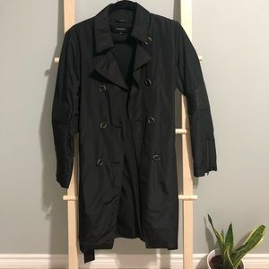 Mackage Monique Double Breasted Trench Coat size S